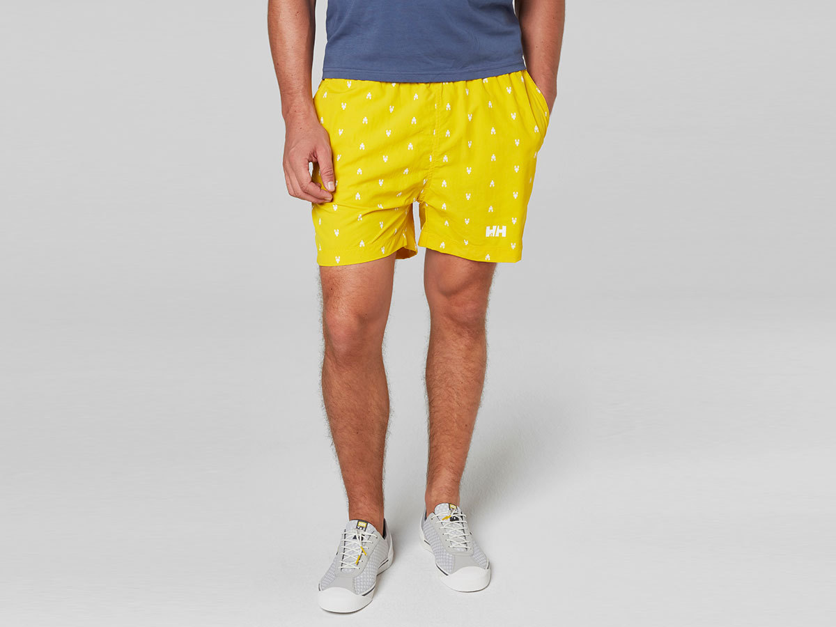 Helly Hansen COLWELL TRUNK - SULPHUR PRINT - S (33970_351-S )