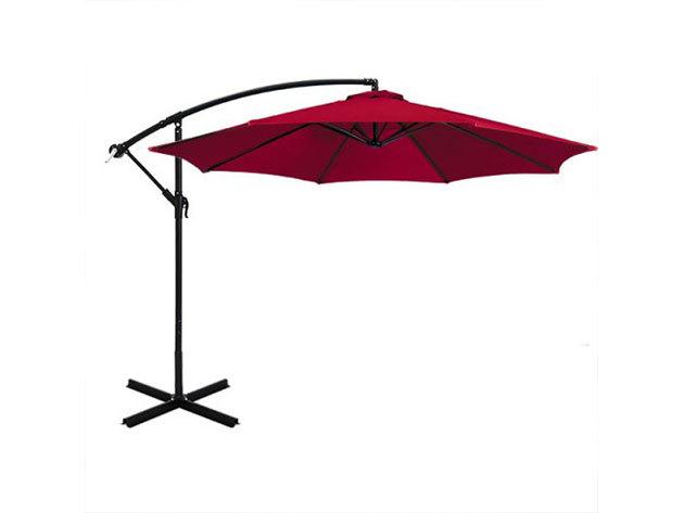 Függő napernyő 2,7 m - piros HOP1000812