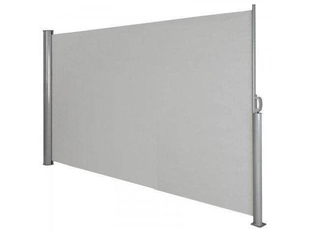 Kihúzható árnyékoló fal - szürke HOP1000719