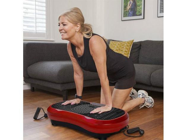 Vibrációs tréner - segíthet a zsírégetésben, növelheti az izmok teljesítményét, javíthatja a vérkeringést