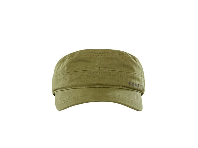 The North Face Military sapka LOGO MILITARY HAT IGUANA GREEN - T0A9GXUBY - L/XL