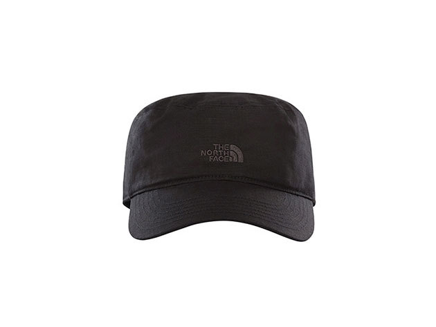 The North Face Military sapka  LOGO MILITARY HAT TNF BLACK - T0A9GXJK3 - L/XL