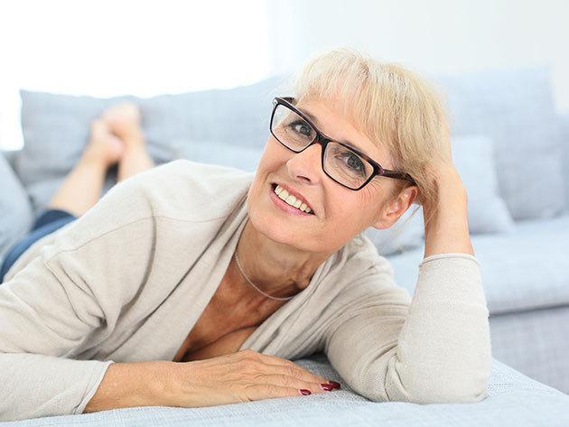 Komplett szemüveg normál egyfókuszú felületkezelt lencsével