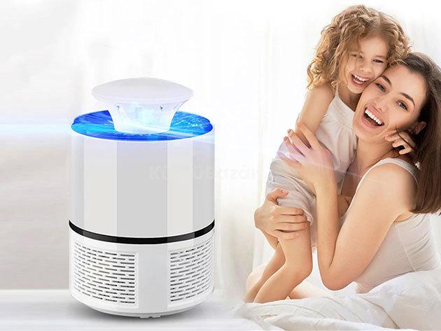Elektromos szúnyogirtó lámpa  ízléses dizájnnal - vegyszerek nélkül tarthatod távol az idegesítő rovarokat
