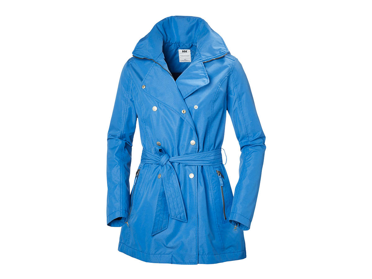 Helly Hansen W WELSEY TRENCH - BLUE WATER - XS (62383_503-XS )