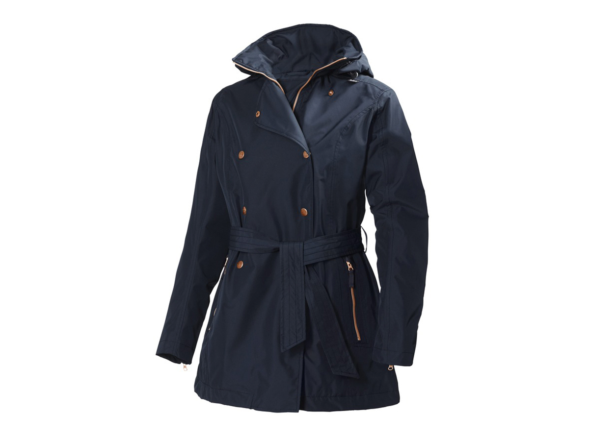 Helly Hansen W WELSEY TRENCH - NAVY - M (62383_598-M )