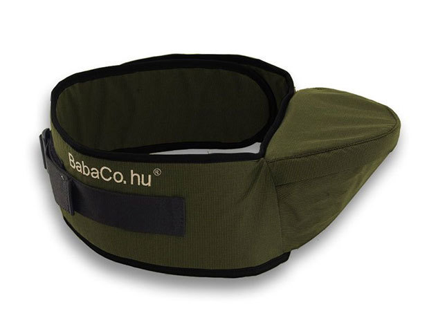 BabaCo® csípőülőke / olivazöld