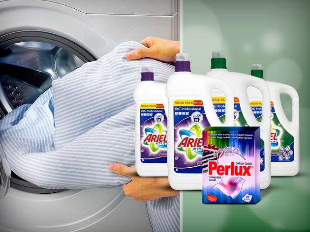 Tiszta és illatos ruha, minőségi mosószerekkel, elérhető áron.