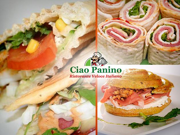 Egyetek igyatok kedvezményesen ketten, eredeti olasz étteremben a Nyugatinál, a Ciao Paninoban!