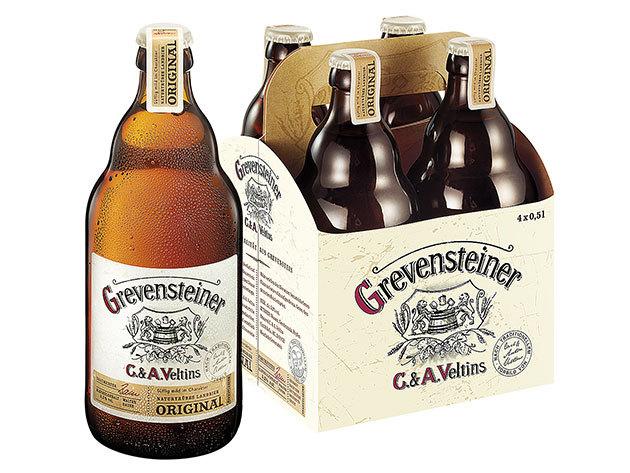 Grevensteiner kézműves világos sör (0,5L) Németországból, akár korsóval egy csomagban