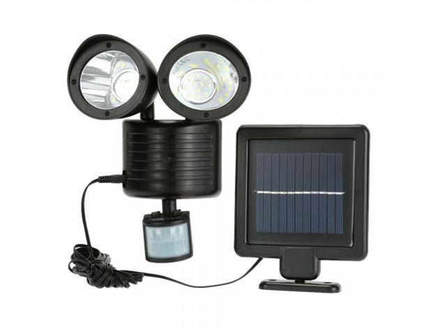 Dupla mozgásérzékelős szolár világítás - HOP1000695