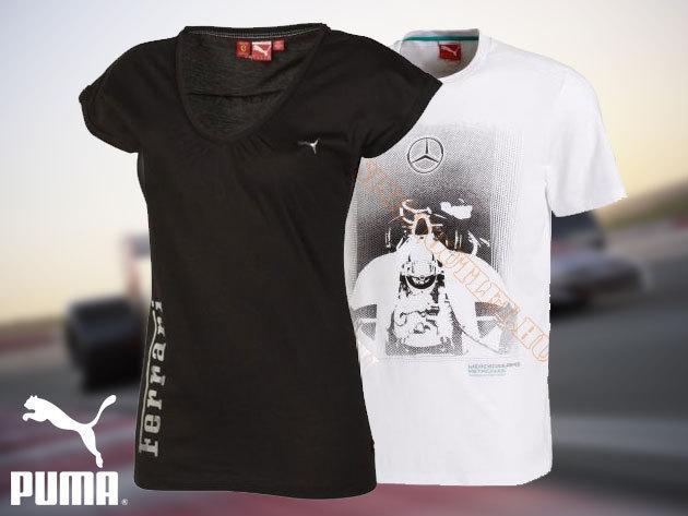 Puma motorsport pólók és sapkák - kényelmes, divatos szabadidő ruházat nőknek és férfiaknak