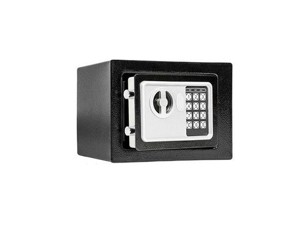 Digitális széf - HOP1000730 - FEKETE