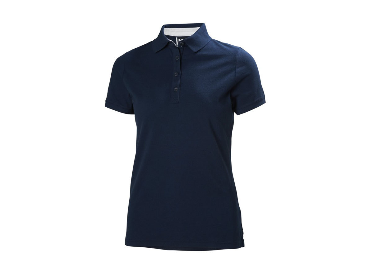 Helly Hansen W CREW PIQUE 2 POLO - EVENING BLUE - S (53055_689-S )