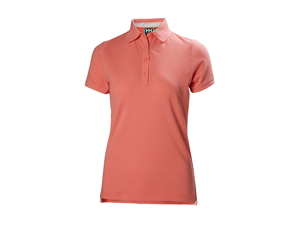 Helly Hansen W CREW PIQUE 2 POLO - SHELL PINK - XS (53055_103-XS )