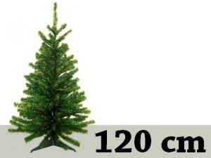 Zöld, rövid tűlevelű, tömött (120 cm)