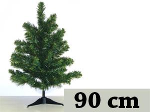 Zöld, hosszú tűlevelű, tömött (90 cm)