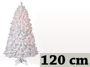 Fehér, rövid tűlevelű, tömött (120 cm)