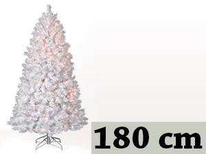 Fehér, rövid tűlevelű, tömött (180 cm)