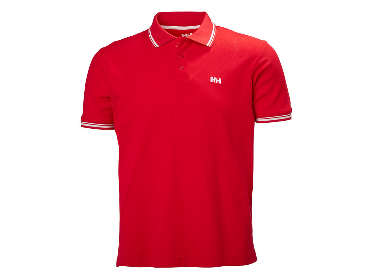 Helly Hansen KOS SS POLO - FLAG RED - S (50565_111-S )