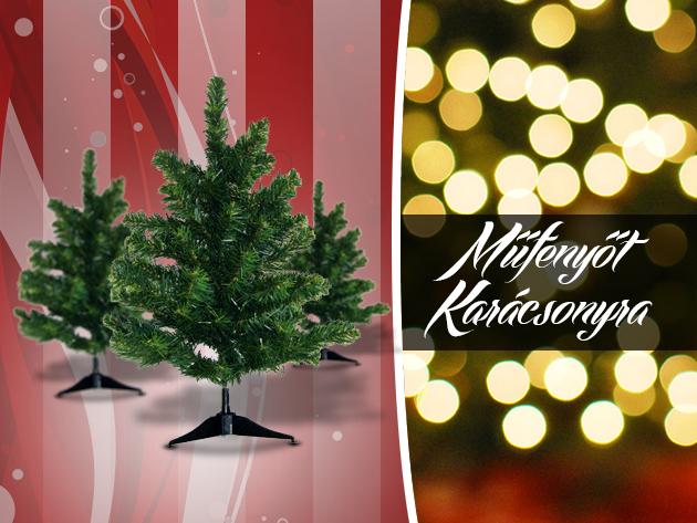 Vedd meg most karácsonyra a műfenyődet akár már 999 Ft-ért!