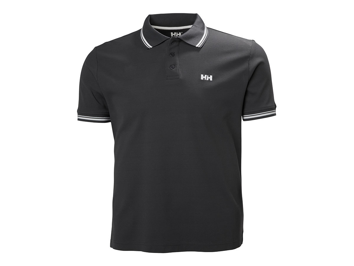 Helly Hansen KOS SS POLO - EBONY - XXL (50565_981-2XL )