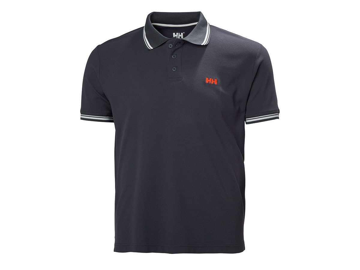 Helly Hansen KOS SS POLO - GRAPHITE BLUE - S (50565_994-S )