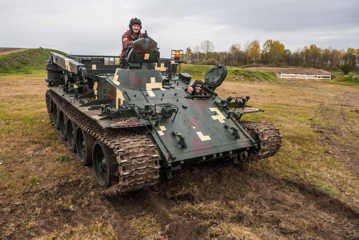 """Élményvezetés VT-55 Tank """"BIKA""""-val - """"M"""" CSOMAG"""