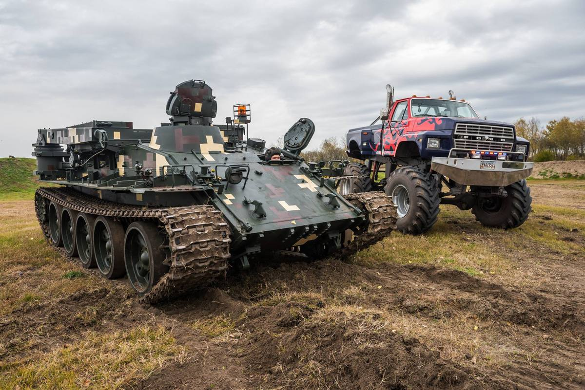 """Élményvezetés VT-55 Tank """"BIKA""""-val - """"XL"""" CSOMAG"""
