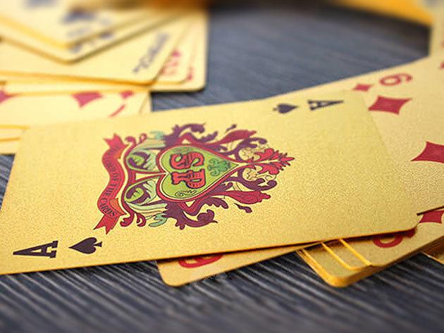Póker kártya pakli luxus dizájnnal - Légy stílusos és add meg a módját a legközelebbi póker partinak!