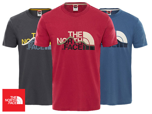 The North Face férfi póló MOUNT LINE TEE 100% pamutból, prémium minőségben