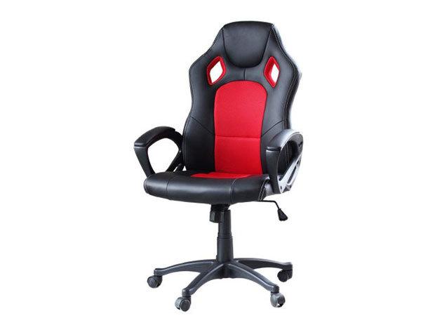 Gamer szék Basic, 3 színben (piros) - HOP1000870