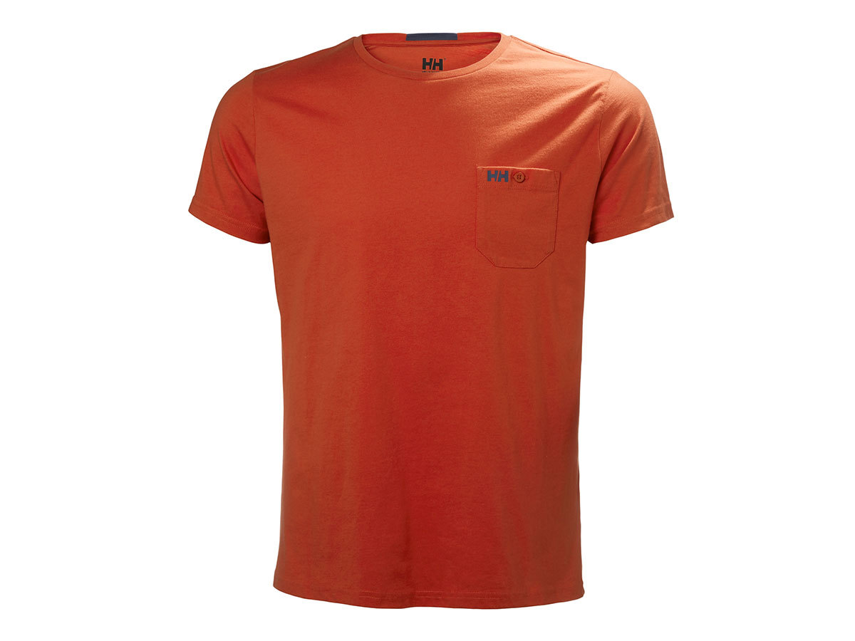 Helly Hansen FJORD T-SHIRT - PAPRIKA - S (53025_118-S )
