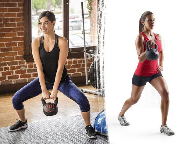 Kettlebell / gömbsúlyzó / harangsúly szett, 3 méretben - a testedzések rendkívül intenzív és hatásos formáját teszi lehetővé