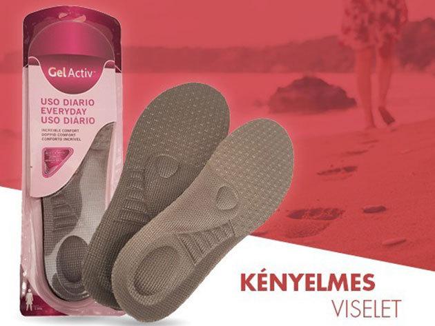Gel Activ talpbetét a maximális kényelemért - Legyen a láb egészséges, a járás kényelmes!