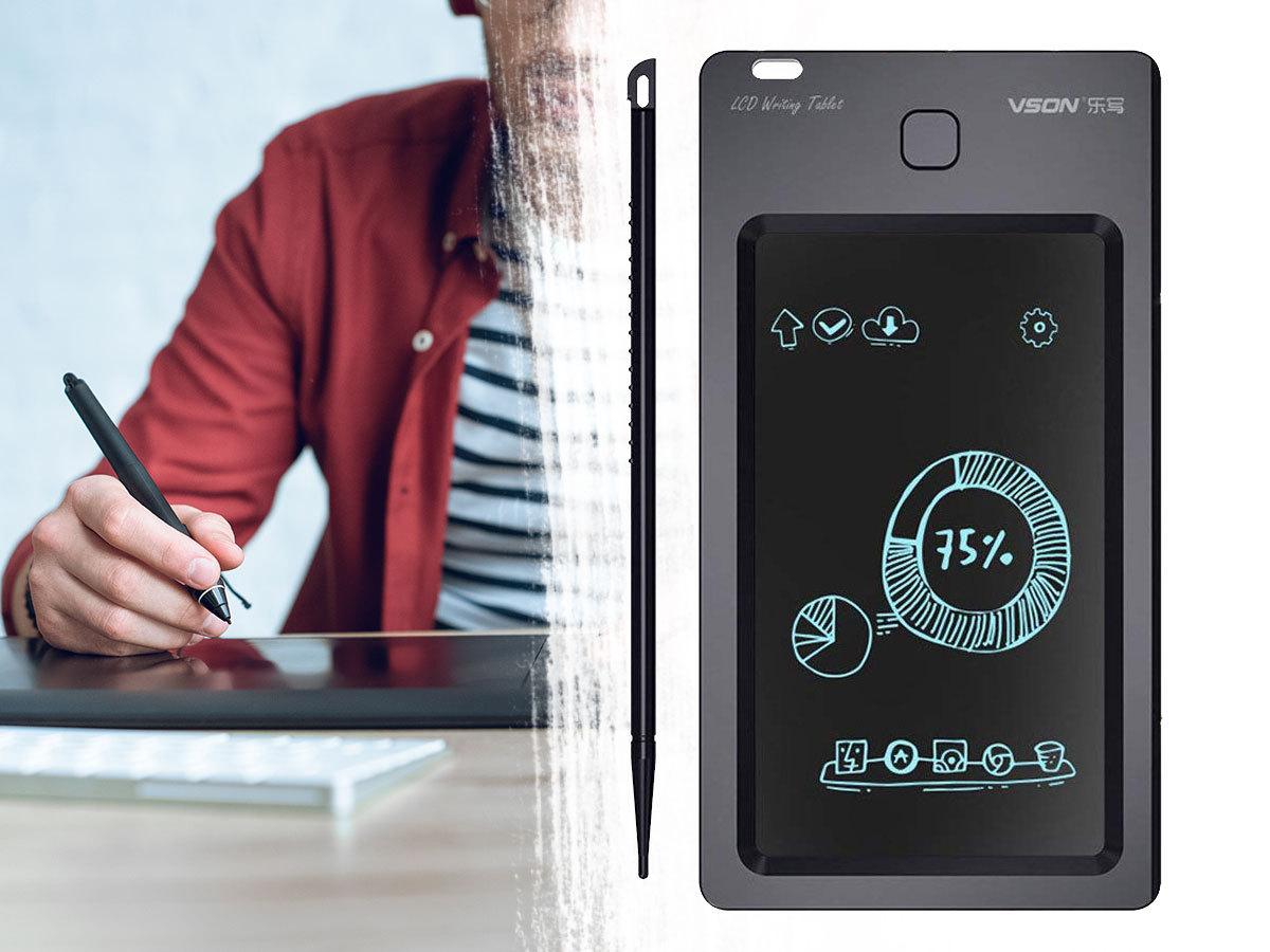 LCD digitális rajz és író tábla - Nem kell ezentúl papírfecnikre jegyzetelned, ha eszedbe jut valami!