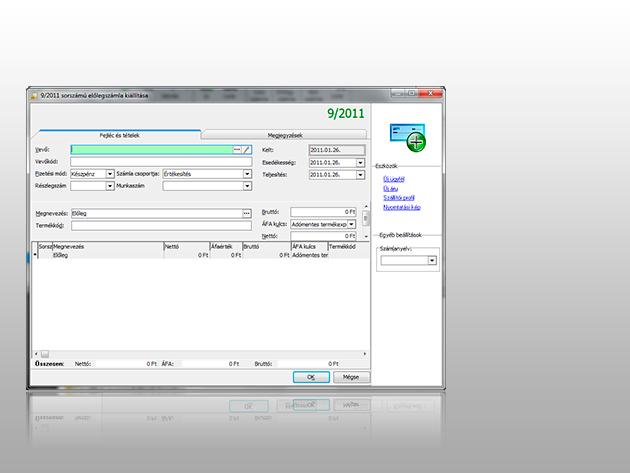Számla Kompakt (egyszerű és azonnal használható számlázóprogram)