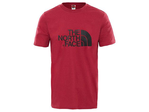 The North Face M S/S EASY TEE RUMBA RED T92TX33YP - XL - AZONNAL ÁTVEHETŐ