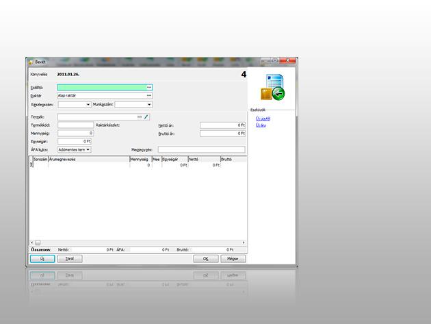 Készlet Optimum (webáruház-kapcsolat, számlázás, készletkezelés és CRM egy rendszerben egyszerűen)