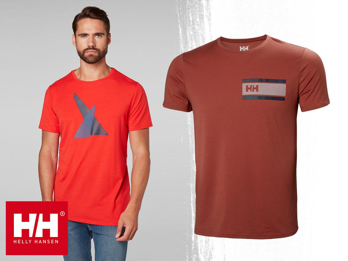 53ef30b77c Helly Hansen HP SHORE T-SHIRT férfi technikai póló, gyorsan száradó, enyhén  elasztikus anyagból