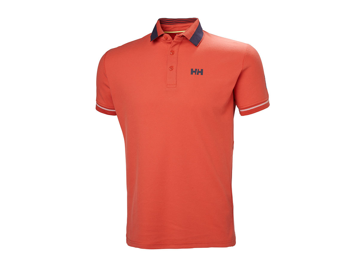 Helly Hansen HP SHORE POLO - PAPRIKA - S (53013_118-S )