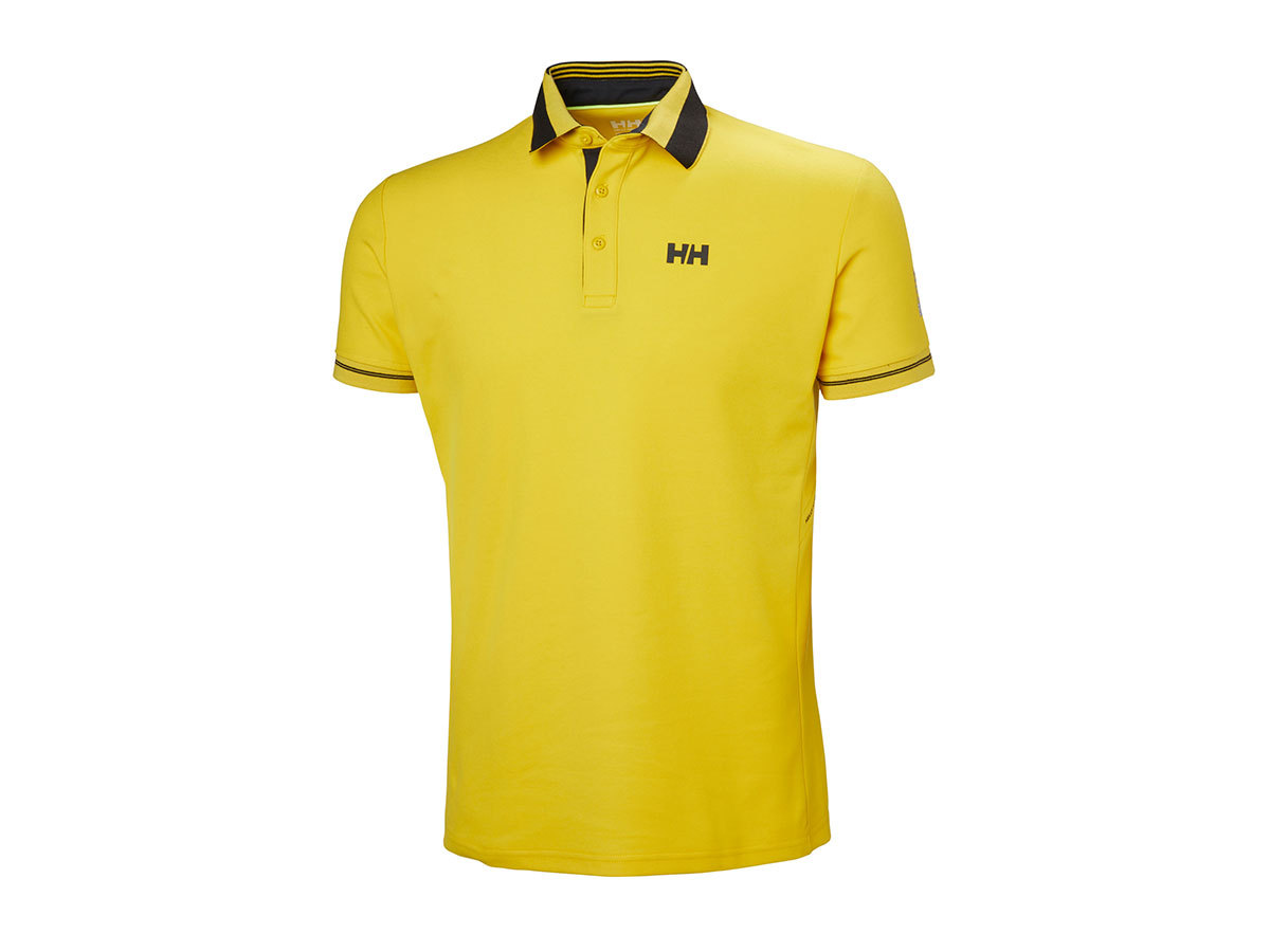 Helly Hansen HP SHORE POLO - SULPHUR - M (53013_351-M )