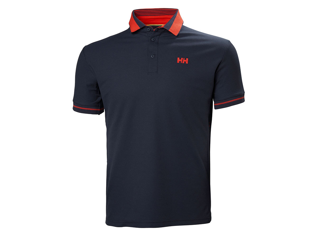 Helly Hansen HP SHORE POLO - GRAPHITE BLUE - L (53013_995-L )