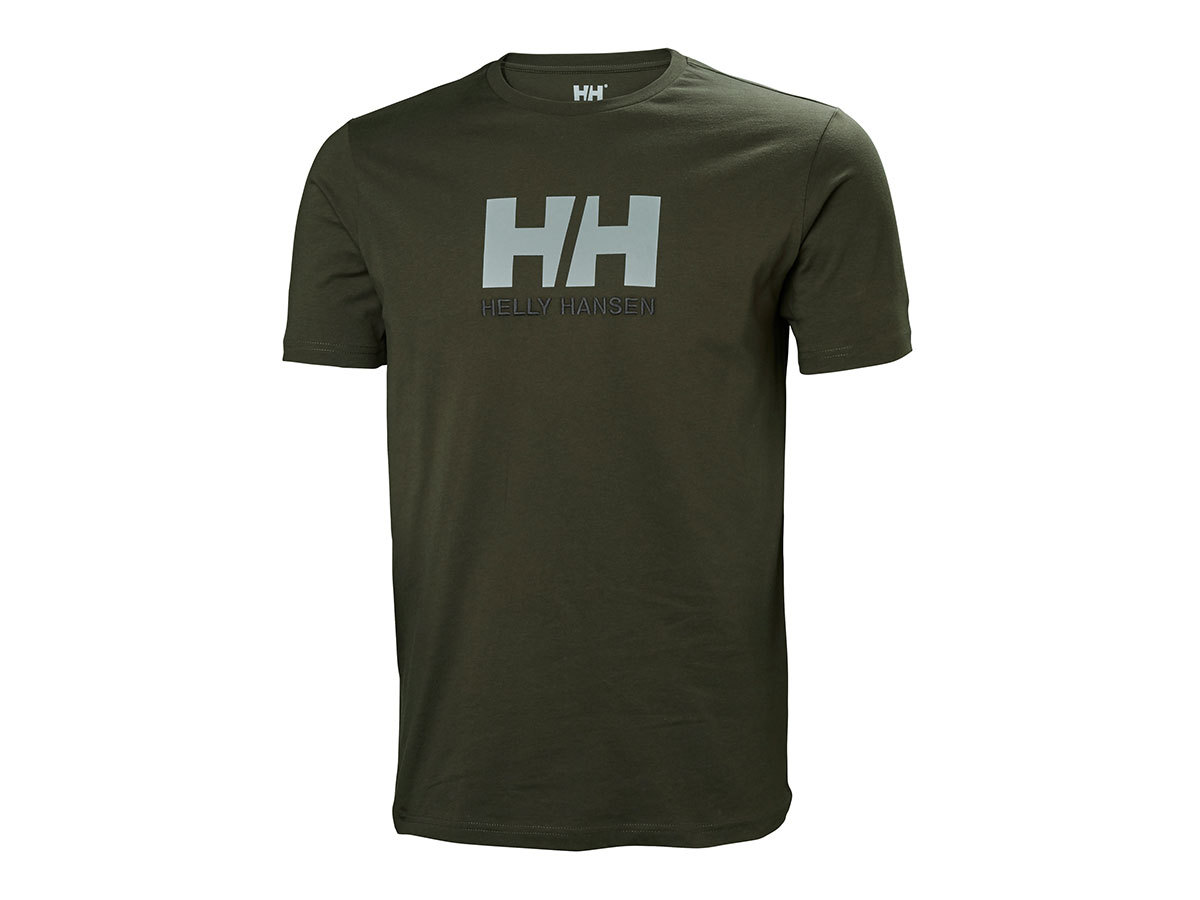 Helly Hansen HH LOGO T-SHIRT - BELUGA - M (33979_482-M )