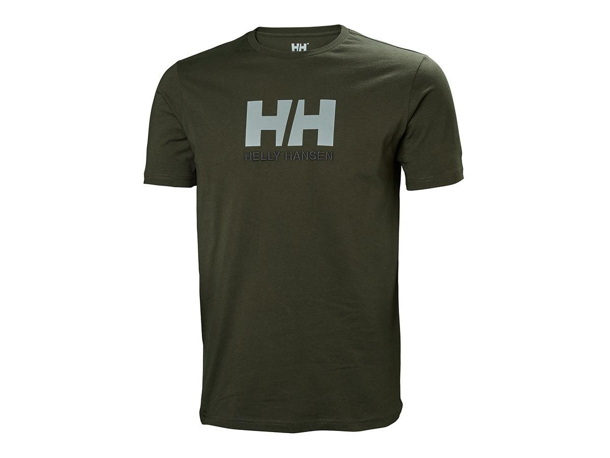 Helly Hansen HH LOGO T-SHIRT - BELUGA - XL (33979_482-XL )