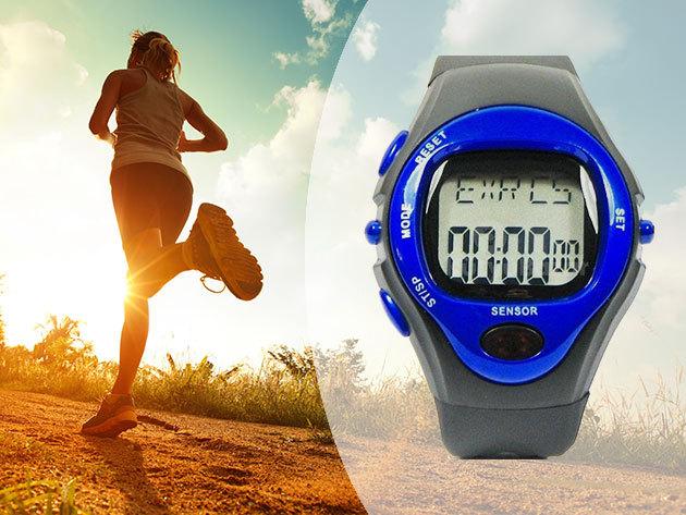 Pulzusmérő óra kalóriaszámláló funkcióval - mellkasi érzékelő nélkül használható, a legújabb ECG technológiának köszönhetően