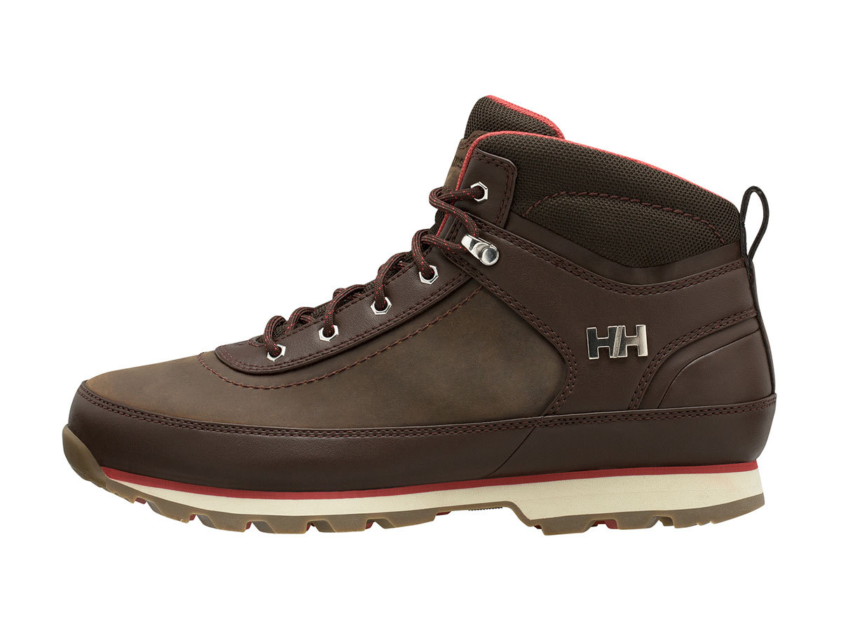 Helly Hansen CALGARY - COFFE BEAN / NATURA / RED - EU 40.5/US 7.5 (10874_747-7.5 )