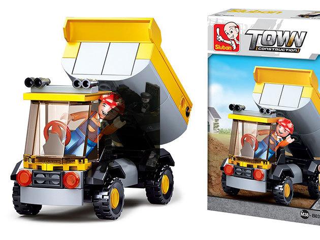 Sluban Boy's építőjátékok, melyek Lego kompatibilisek - tűzoltó, katonai SUV, harckocsi...stb. ideális ajándék fiúknak
