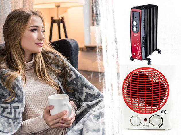 Elektromos konvektor, hősugárzó és olajradiátor - kellemes meleg gyorsan és biztonságosan a hideg napokon
