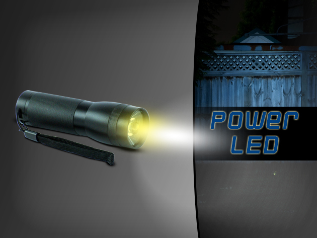Szerezz be Te is egy extrém fényű, kimagasló minőségű LED-es elemlámpát fél áron!